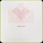 I Heart U - Handmade Paper