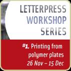 Letterpress Workshop Series