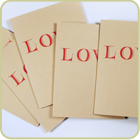Love Card - five pack