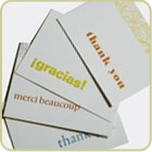 Thank You Cards - 4 pack
