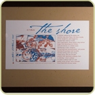 The Shore, Framed Print